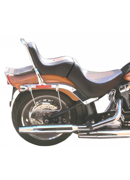 SOPORTE ALFORJAS HARLEY DAVIDSON SOFTAIL CUSTOM (06 - UP)