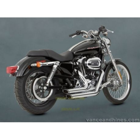 ESCAPE MOTO HARLEY DAVIDSON SPORTSTER '04-up SHORTSHOTS STAGGERE
