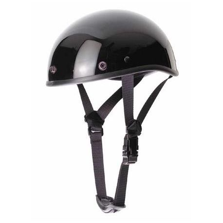 CASCO BRAINCAP NEGRO BRILLO