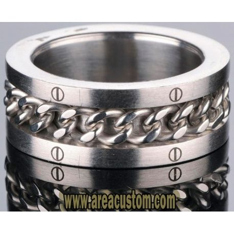 ANILLO ACERO QUIRURGICO FINGER RING MOVE