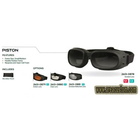 GAFAS PISTON BOBSTER CORRECCION OPTICA
