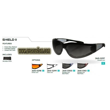 GAFAS SHIELD II BOBSTER SIN ARMAZON