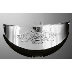 VISERA CROMADA LIVE TO RIDE PARA FARO CENTRAL DE 5 1/2""