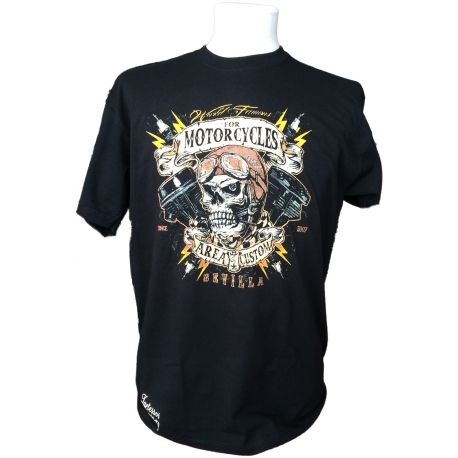 CAMISETA AREA CUSTOM WORLD FAMOUS 2014