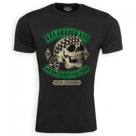 CAMISETA KING KEROSIN GAS BLACK  3XL