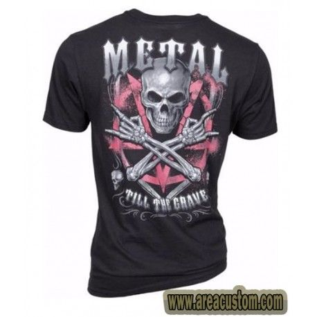 CAMISETA LETHAL THREAT METAL TILL THE GRAVE
