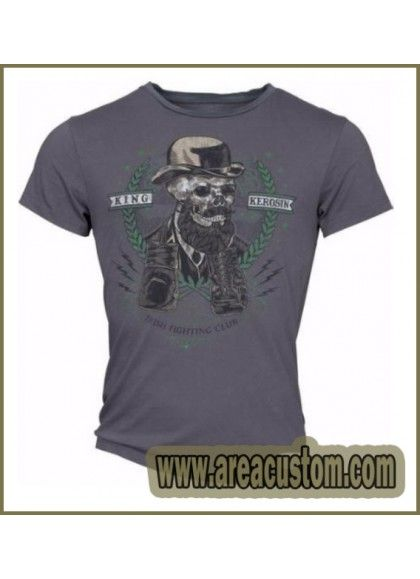 CAMISETA KING KEROSIN SKULL GENT
