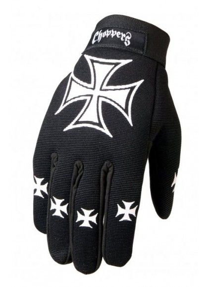 GUANTES CRUZ DE MALTA MECHANIC HOT LEATHERS