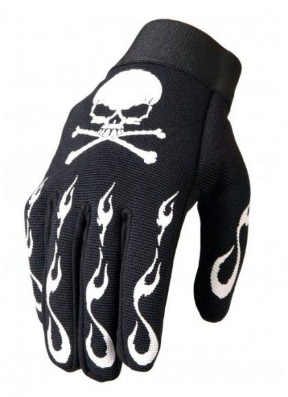 GUANTES SKULL AND BONES MECHANIC HOT LEATHERS