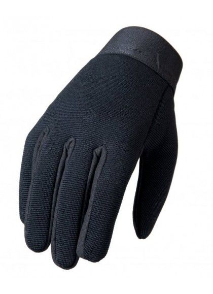 GUANTES LISOS NEGROS MECHANIC HOT LEATHERS