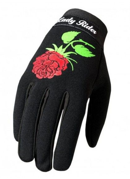 GUANTES LADY RIDER CHICAS MECHANIC HOT LEATHERS