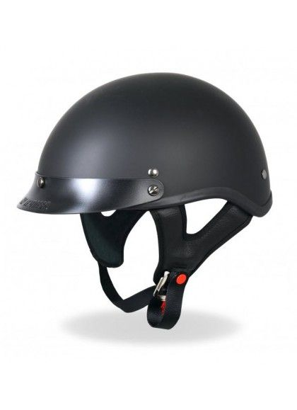 CASCO CUSTOM HD NEGRO MATE DOT