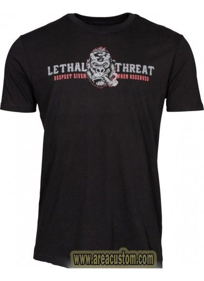 CAMISETA LETHAL THREAT GORILLA RIDING