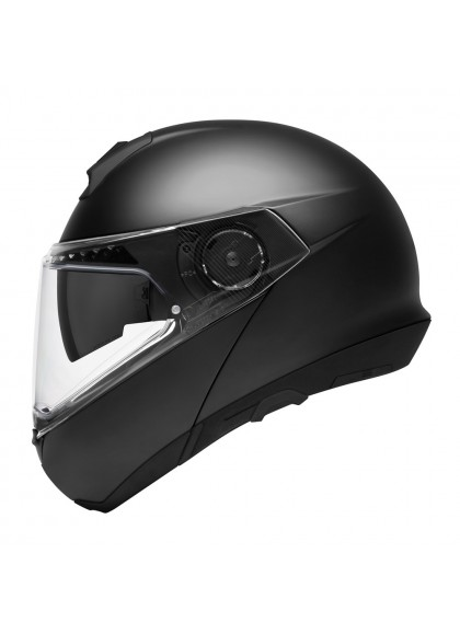 CASCO C4 BASIC SCHUBERTH MODULAR NEGRO MATE