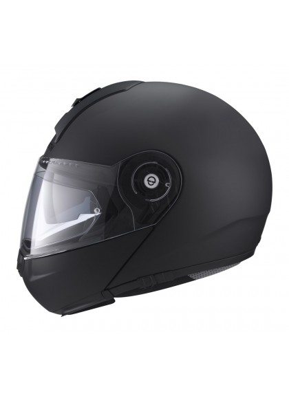CASCO C3 BASIC SCHUBERTH MODULAR NEGRO MATE