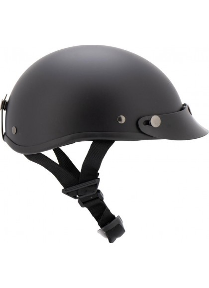 CASCO BRAINCAP NEGRO MATE